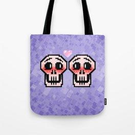 Skeletons in Love Tote Bag