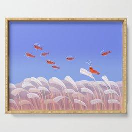 Flying cherry shrimp Serving Tray