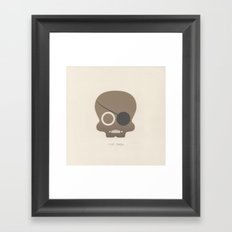 Nick Fury Framed Art Print