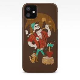 Green Thumberjack iPhone Case