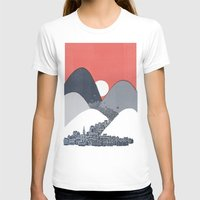 sun T-shirts featuring Midnight Sun by David Fleck