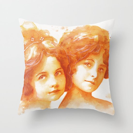Age of innocence Throw Pillow