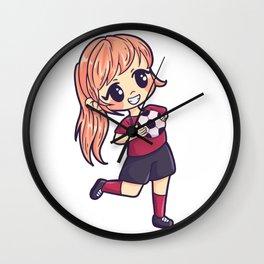 Handball girls sports woman gift Wall Clock