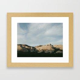 Mormon Rocks Framed Art Print