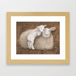 Sheep 1 Framed Art Print