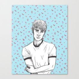 Finn Nelson Floral Canvas Print