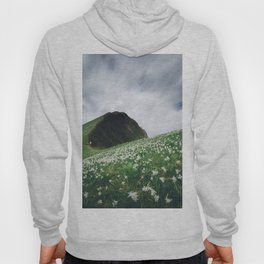 Thousands of narcissus on Golica, Slovenia Hoody