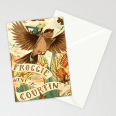 Froggie Went A-Courtin' Stationery Cards