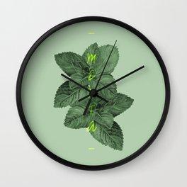 Menta Wall Clock