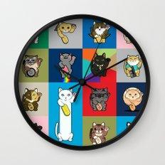 Lucky Cats - LOLcats Wall Clock