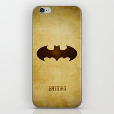 Bat Man iPhone & iPod Skin