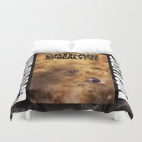 book cover Duvet Covers featuring Cathair Apocalypse Book 1 Cover by Cathair Apocalypse