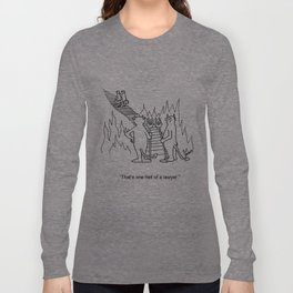 """""""One Hell Of A Lawyer"""" Long Sleeve T-shirt"""
