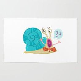 Cute Snail Rug