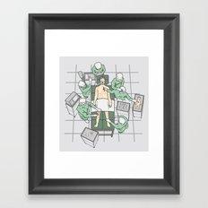 Standard Operating Procedure Framed Art Print