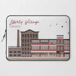 Liberty Village - Toronto Neighbourhood Laptop Sleeve