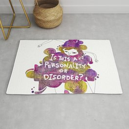 Personality or Disorder Rug