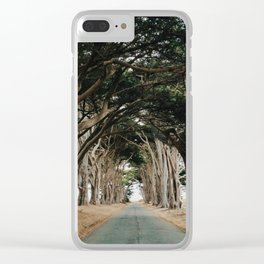 Tree Tunnel Clear iPhone Case