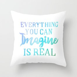 Pablo Picasso Quote 2 Throw Pillow
