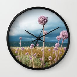 Lefkada view Wall Clock