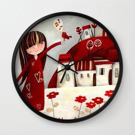 My bird Wall Clock