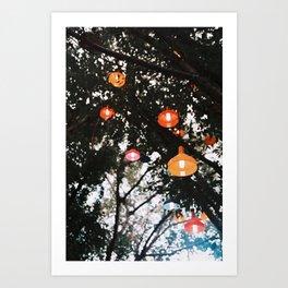 Pop Light Art Print