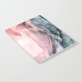 Blush and Blue Dream 1: Original painting Notebook