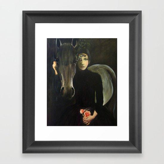 Mystery 9 Framed Art Print