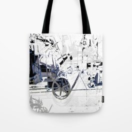 Cotton Spin  Tote Bag
