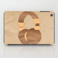 headphones iPad Cases featuring Headphones by MelRae