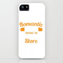 "Cool Tee ""I Enjoy Romantic Walks Through The Hardware Store"" Handyman T-shirt Design Tools iPhone Case"