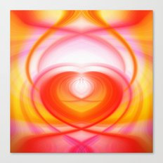 Twirl in Love Canvas Print