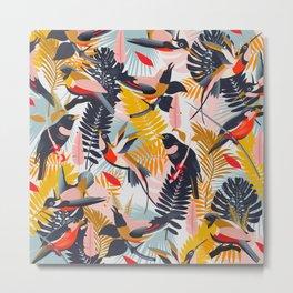 Paradise Birds II. Metal Print