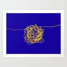 THE MIND. Art Print