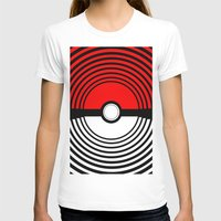 pokeball T-shirts featuring A Pokeball Within a Pokeball by The Fictional Seviper
