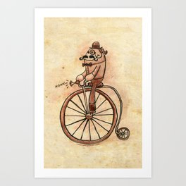 """Good Day, Sir!"" Art Print"