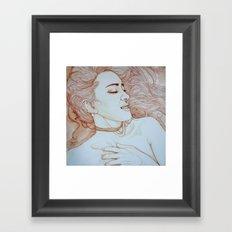 Me, myself & I  Framed Art Print