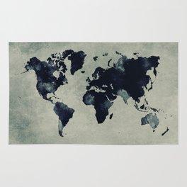 map world map 60 Rug
