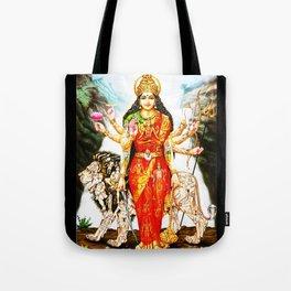 Hindu Durga 3 Tote Bag
