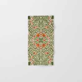 Folk Inspired Florals Hand & Bath Towel
