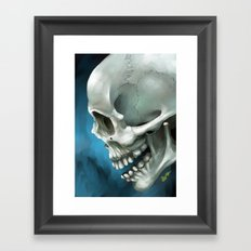 Skull 3 Framed Art Print