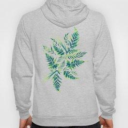 Fern leaves - green Hoody