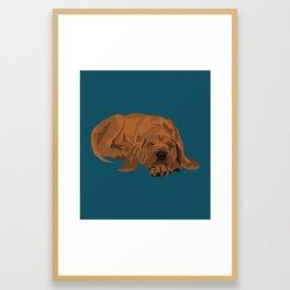 Silas Framed Art Print
