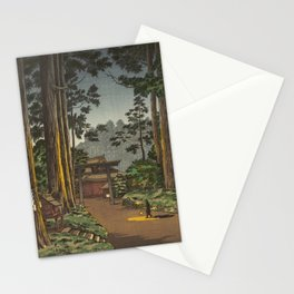 Tsuchiya Koitsu - Nikko Futarasan Temple Stationery Cards