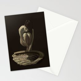 woman of the sea Stationery Cards