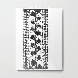 Crochet Impressions: LEAVES Metal Print