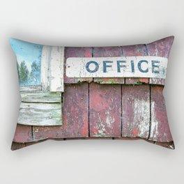 Chippy Office Rectangular Pillow