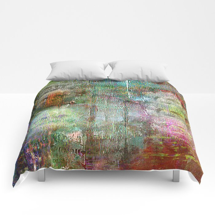 Brothers triptych Comforters