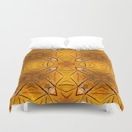 Kaleidoscope Tree rings Duvet Cover