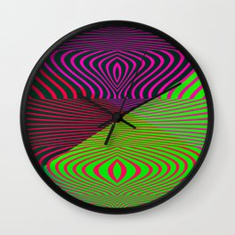 Playing with optic .. Wall Clock